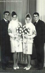 Aurel cu Anisoara Borlovan SI Mircea cu Magda Borlovan