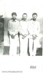 BORLOVAN CRISTIAN, ADI MIHUTA, SARB VIOREL s-au botezat in 1980 la Micalaca
