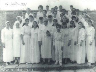 Botez in Bazinul din Sala Sporturilor 14 Iulie 1981- Candidatii Bis