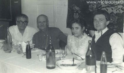 Mircea Damacus-Necsa si Rodica Damacus-Necsa(Martinescu), Alaturi Borlovan Cornel si fratele Cernad