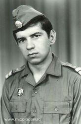 Alfred Croitor-in serviciul militar cu grad caporal - 1975