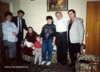 Bochean Pavel cu sotia si fiul Nelu&Dan Mircea cu Virginica si Rodica Dan