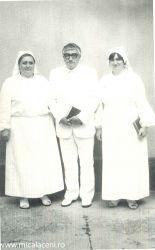 Botez 18.06.1989- fr.Cornel Borlovan, Stroe Maria(soara Mioara) si fiica Gyori Cristina