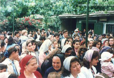 Botez Micalaca in curte la  Biserica veche 2