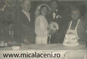 Casatoria Dumitru si Emilia Balan - alaturi unchii Lador Gavril si Paraschiva
