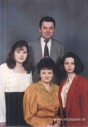 Cornel Dan impreuna cu familia