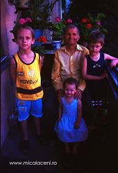 Nicolae Dan cu stranepotii