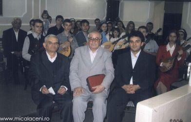 Orchestra Bisericii din anul 2004 - Cristescu Cornel , Borlovan Cornel si Cristescu Marcel