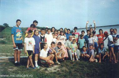 Tabara de copii la Cincis