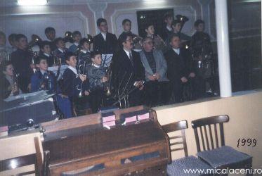 fanfara de copii Micalaca- 24 Decembrie 1999
