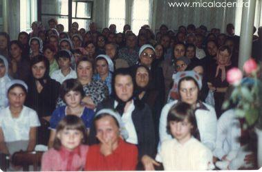 fotografie facuta in partea surorilor  anii 80 - Biserica Veche