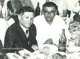 fratii Bochian Pavel si Borlovan Cornel 1975- la nunta fam   Dan Mircea si Virginia